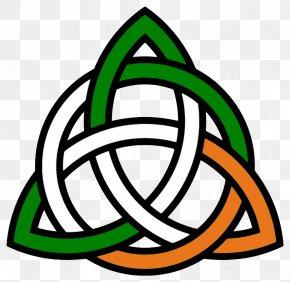 Trinity Cross Cliparts - Celtic Knot Trinity Irish People Clip Art PNG
