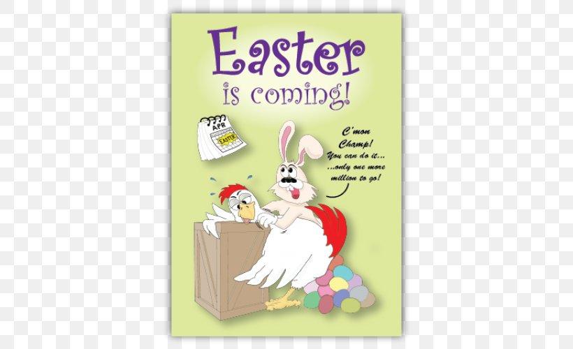 Easter Bunny Egg Hunt Greeting & Note Cards Easter Egg, PNG, 500x500px, Easter Bunny, Cartoon, Easter, Easter Egg, Egg Download Free