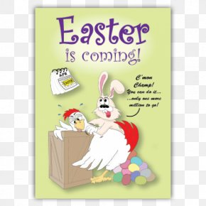 Mother Greeting Card - Easter Bunny Egg Hunt Greeting & Note Cards Easter Egg PNG