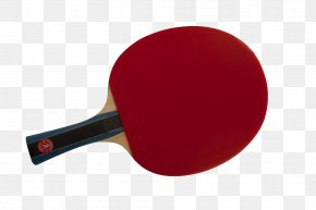 Ping Pong Transparent - Table Tennis Racket Red PNG