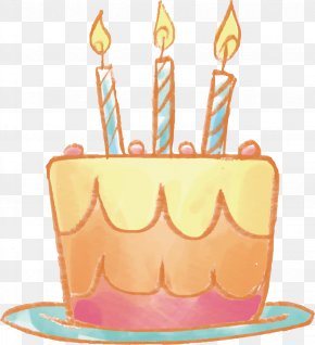 Birthday Cake Vector - Birthday Cake PNG