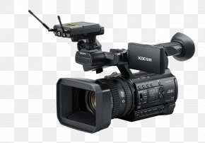 Camera - Camcorder Professional Video Camera XDCAM Point-and-shoot Camera PNG