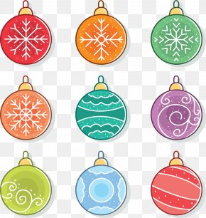 Snowflake Patterns Holiday Decorations - Christmas Ornament Snowflake Poster Clip Art PNG