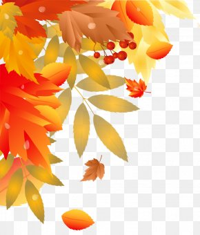 Autumn Leaves Decoration Image - Autumn Hit Single Station De Ski Valinouet PNG