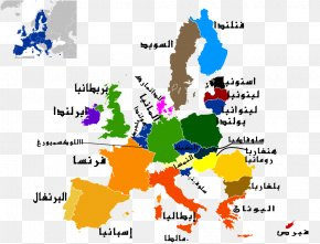 Map - Member State Of The European Union Vector Graphics Map PNG