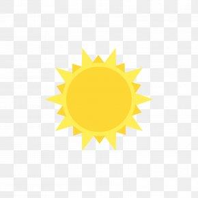 Yellow Sun - Yellow Pattern PNG