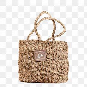 Woven Bamboo Rattan Wicker Handbag - Basket Rattan Wicker Bamboe PNG