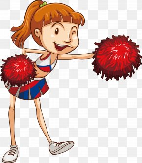 Cheerleader Beauty - Stock Photography Stock Illustration Clip Art PNG