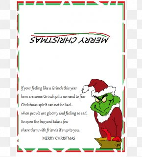 Santa Claus - Grinch Candy Cane Santa Claus Christmas Day Poetry PNG