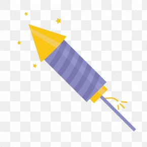 New Year Vector Material Rocket - New Year Vecteur Computer File PNG