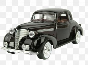 Black Classic Car Model - Vintage Car Vehicle Registration Plate Classic Car PNG