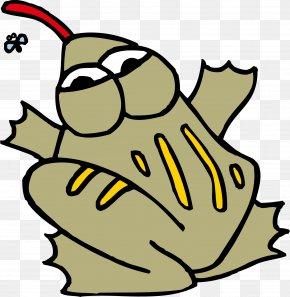 Cartoon Frogs - Frog Cartoon Clip Art PNG