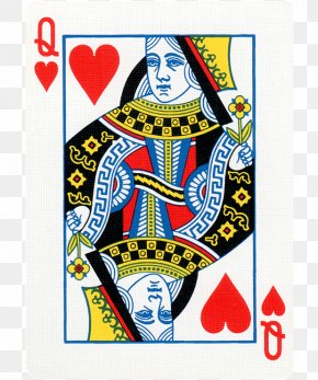 Queen - Queen Of Hearts Playing Card Red Queen King PNG