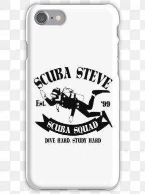 Funny Iphone Skins - Carnivores Scuba Diving Tote Bag Black Font PNG