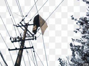 Dangerous High Voltage - High Voltage High-voltage Cable PNG