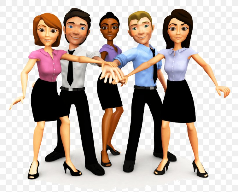 Marketing Strategy Businessperson Teamwork, PNG, 861x697px, Marketing, Business, Businessperson, Cartoon, Communication Download Free