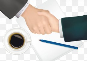 Business Handshake - Drawing Royalty-free Clip Art PNG