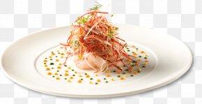A Restaurant Menu In French - Seafood Asian Cuisine Recipe Dish Garnish PNG
