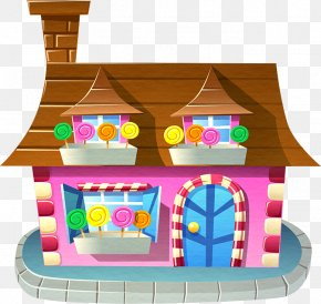 Cartoon Candy Cottage - Candy Crush Saga Candy Crush Soda Saga Candy Sweets PJ Masks: Moonlight Heroes Candy Crack Mania PNG