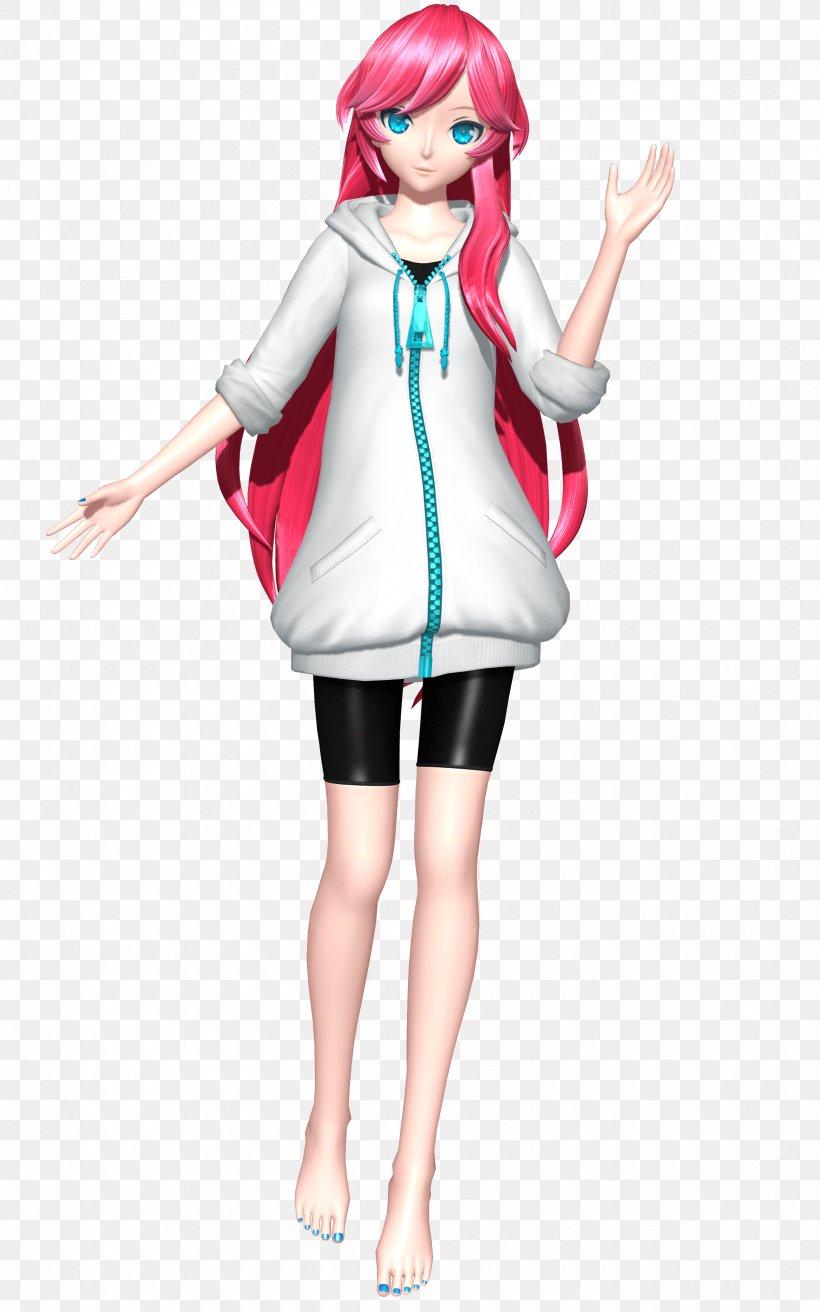 Hatsune Miku: Project DIVA Megurine Luka MikuMikuDance Sega, PNG, 2500x4000px, Hatsune Miku Project Diva, Barbie, Clothing, Costume, Deviantart Download Free