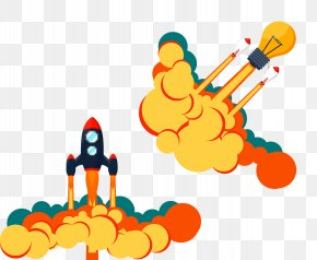 Rocket - Rocket Launch Airplane Icon PNG