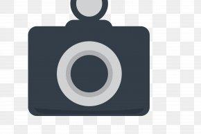 Vector Black Shot Up Camera - Brand Rectangle Font PNG