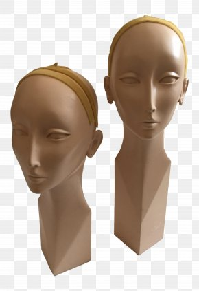 Mannequin - Chin Forehead Neck Mannequin PNG