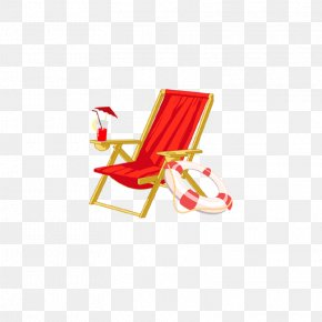 Seat - Deckchair Beach Furniture PNG