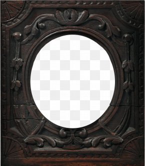 Pattern Mirror - Picture Frame Mirror Film Frame PNG