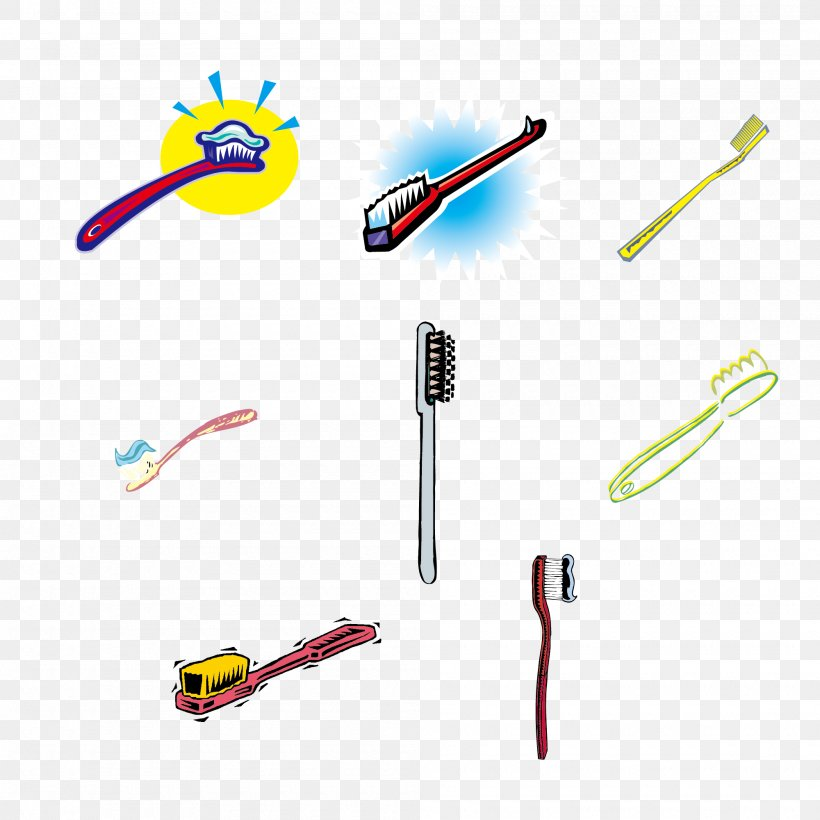 Toothbrush Euclidean Vector Toothpaste, PNG, 2000x2000px, Toothbrush, Borste, Cable, Designer, Electronics Accessory Download Free