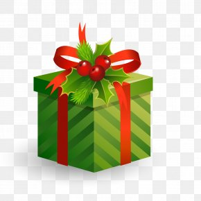Christmas Gift Vector - Christmas Decoration Gift PNG