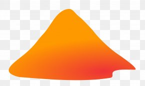 Volcano Pic - Line Triangle Font PNG