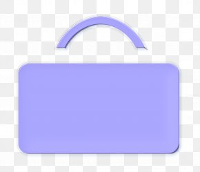 Label Electric Blue - Briefcase Icon Case Icon PNG