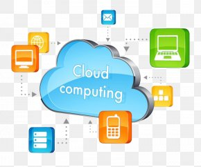 Cloud Computing Transparent Background - Cloud Computing Infrastructure As A Service Data Center Software As A Service PNG
