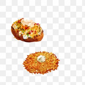 Fast Food Bread Hand Painting Material Picture - Food Illustration PNG