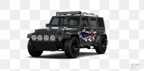 Jeep Wrangler Unlimited - Tire Jeep Wrangler Car Wheel PNG