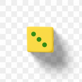 Yellow Dice - Dice Download Icon PNG