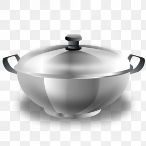 Kitchen Pot - Kitchen Tableware Stock Pot Icon PNG