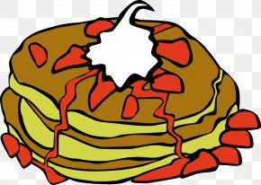 Breakfast Cliparts - Pancake Breakfast Doughnut Fast Food Clip Art PNG