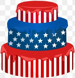 USA Cake Transparent Clip Art Image - United States National Memorial Day Concert Public Holiday American Civil War PNG