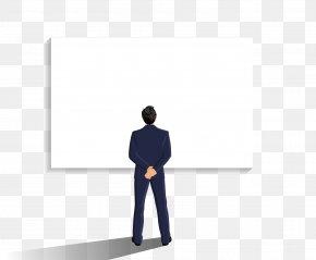 Vector BOSS - Business Human Behavior Standing Font PNG