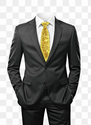 Black Suit - Suit Stock Photography Clothing Shutterstock Tuxedo PNG