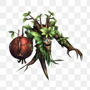 Old Tree Demon In Game - Game Tree Video Game PNG