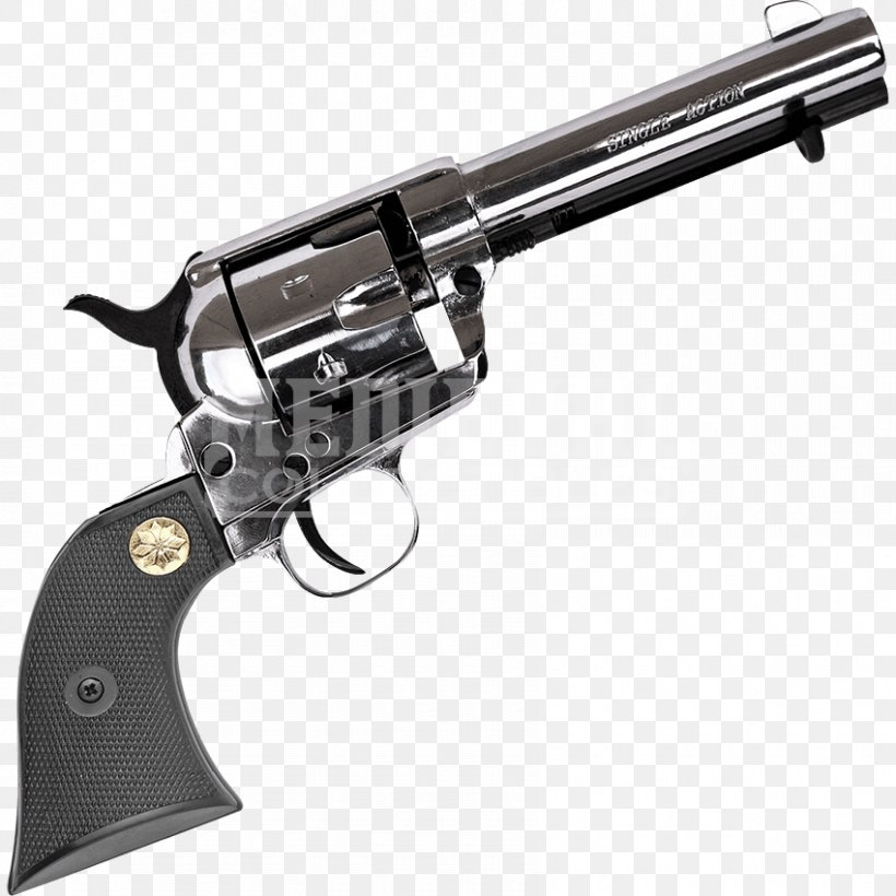 Revolver Firearm Trigger Blank Colt Single Action Army, PNG, 850x850px, Revolver, Air Gun, Airsoft, Ammunition, Blank Download Free