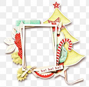 Holiday Ornament Picture Frame - Christmas Picture Frame PNG
