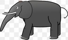 Elephant - African Elephant Indian Elephant Clip Art PNG