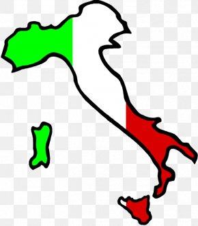 Italy Clipart - Flag Of Italy Italian Cuisine Clip Art PNG