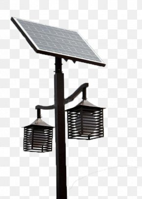 The Street Lights On The Square - Solar Energy PNG