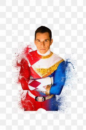 United States - Steve Cardenas Mighty Morphin Power Rangers Billy Cranston Red Ranger United States PNG