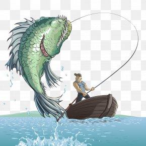 Download Fishing Man Silhouette Images Fishing Man Silhouette Transparent Png Free Download